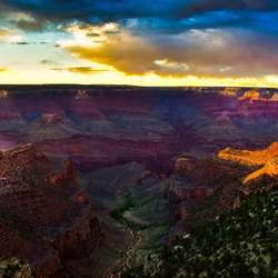 Queen of Canyons - Grand Canyon after sunset