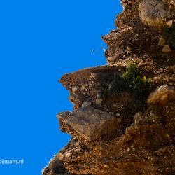 Rots voor de kust bij Stara Baska