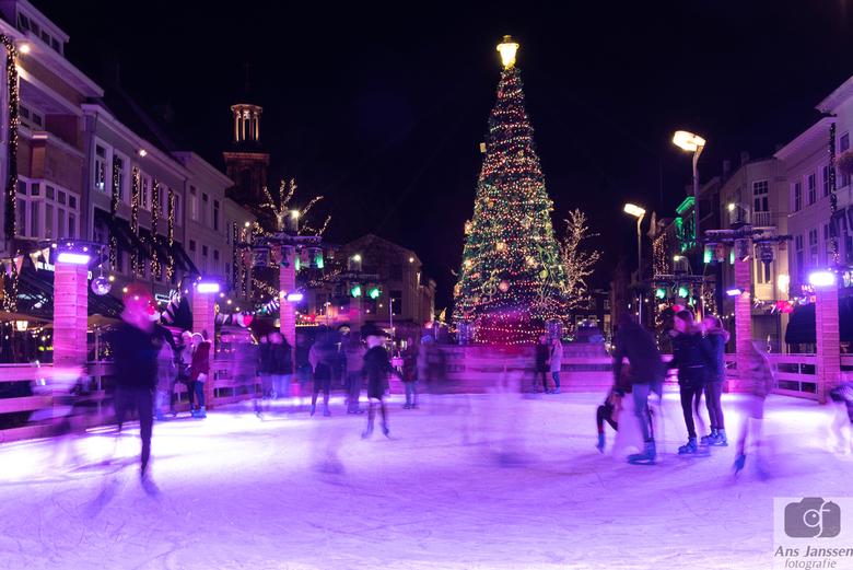 Betoverend Breda - kerstsfeer in Breda bij avond.<br /> Bedankt voor de reacties bij mijn vorige upload.