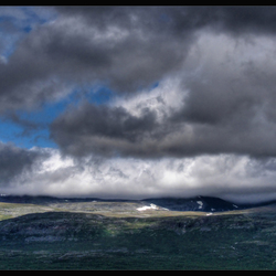 Langs het Tornetråsk meer