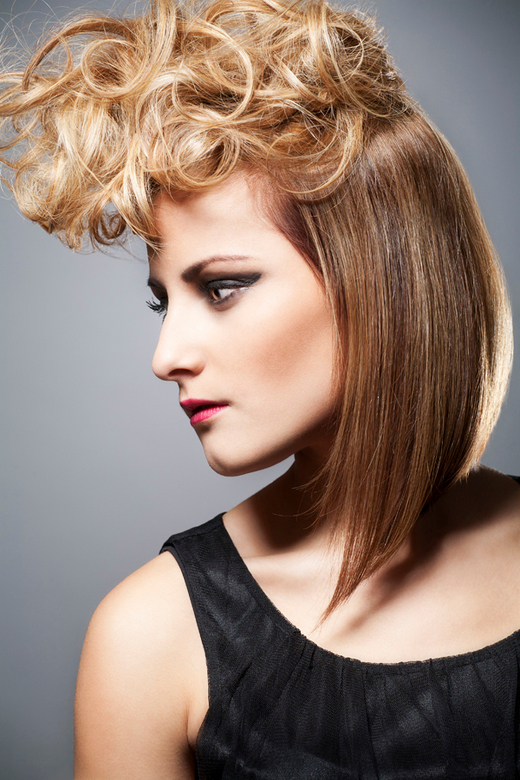 Hair - Model: Indy<br /> Hairstyling: Lieke Derks
