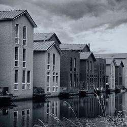 Huizen aan de waterkant