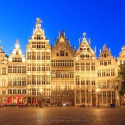 Golden houses Antwerp