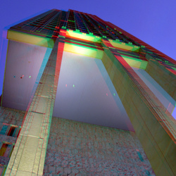 Rotterdam by night 3D