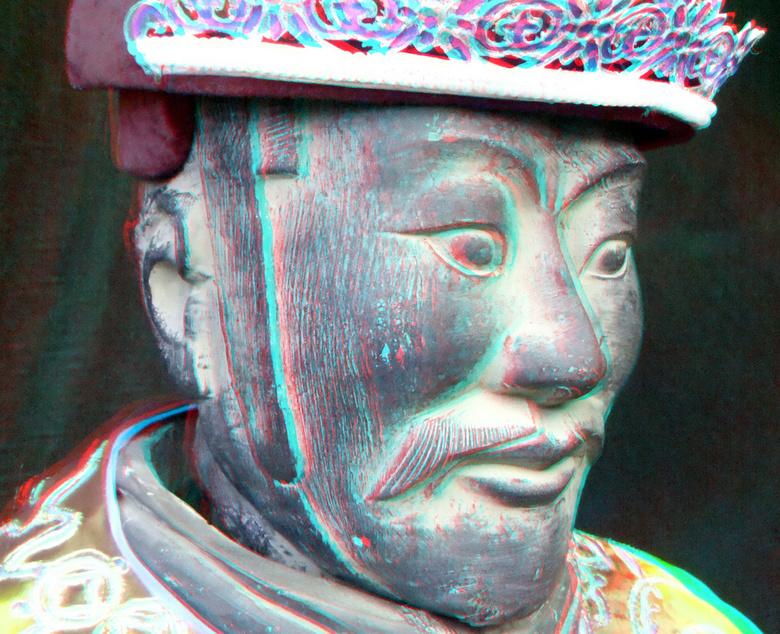 Terracottaleger van Keizer Qin  Alexandrium Rotterdam 3D - Terracottaleger van Keizer Qin  Alexandrium Rotterdam 3D<br /> cha-cha Fuji W3