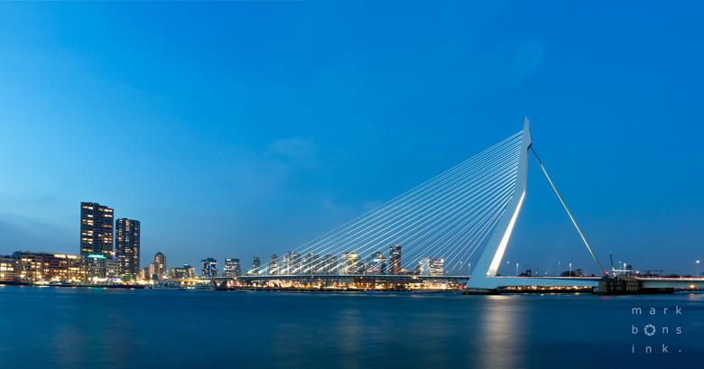 Skyline Rotterdam - Skyline Rotterdam - Erasmusbrug