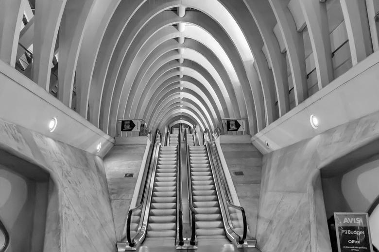 Station Luik - Het mooie treinstation van Luik