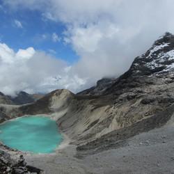 lago congelado sagrado