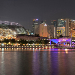 Singapore : skyline