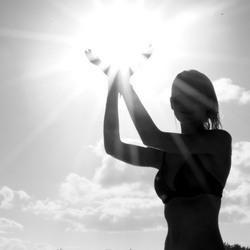 De zon gevangen