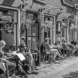 Cafeetje op Texel