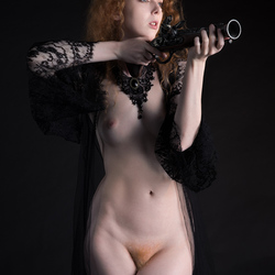 redhead with a gun