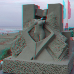 Zandvoort aan Zee 3D