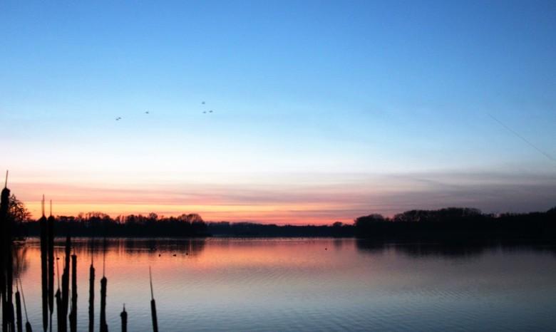 Sunset - Natuurgebied De Gavers tijdens een zonsondergang
