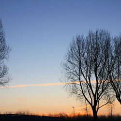 op een koude ochtend