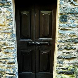 Typisch model deur.