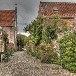 Zomaar een straatje in Veere..