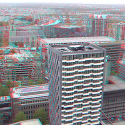 The Muse vanaf Up:town Rotterdam 3D
