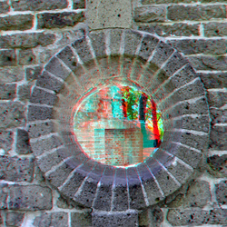 Babarossa-ruine Nijmegen 3D