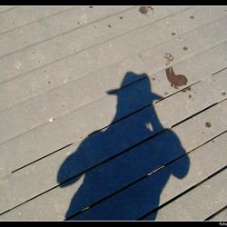 Footprints and shadows