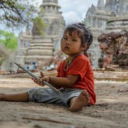 Thaïs meisje