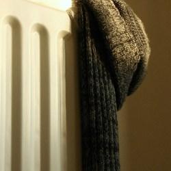 lekker warm