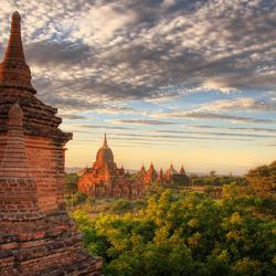 Bagan uitzicht