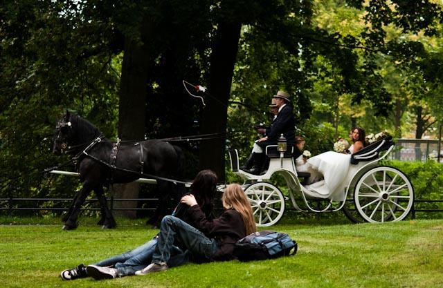 Jurgen en Esther - Een foto uit een bruidsreportage gemaakt in 2011 in Breda.