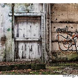 white door..