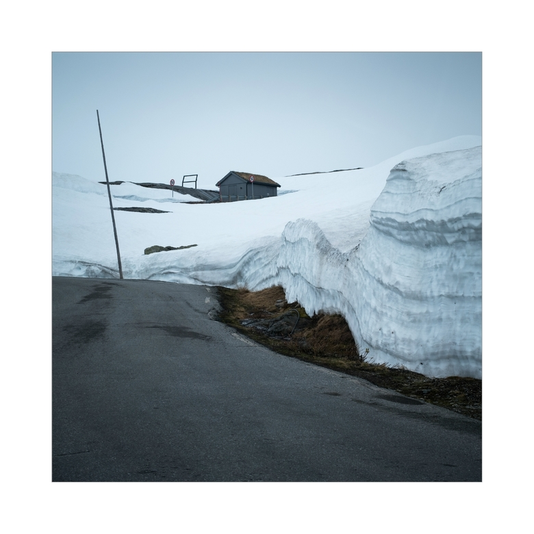 Road Through Snow -