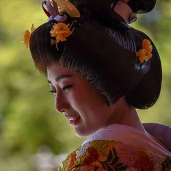 Traditionele Japanse bruid