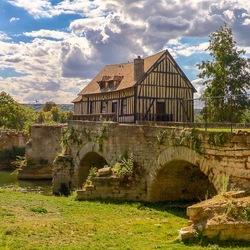 Le Vieux Moulin(De oude molen)