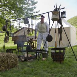 Fort Sabina, de kok en zijn keuken