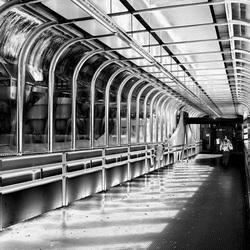 De overloop van station Zaandam CS