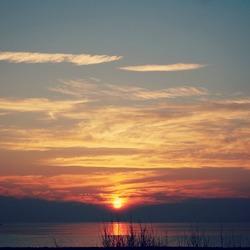 Zonsopgang Ijsselmeer