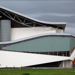 modern theatergebouw