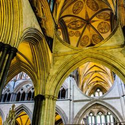 Gewelf van Salisbury cathedral