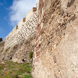 Lanzarote 9 - Castillo de Santa Bárbara uit de 14e eeuw
