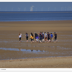 People on Hunstanton Beach - Norfolk 6#6