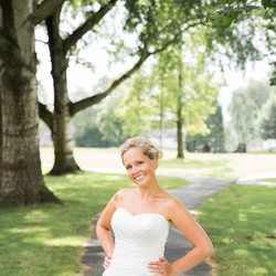 The green wedding