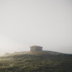 Eenzame hut