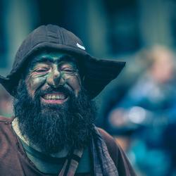 Strange guy on the street