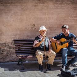 Straatartiesten in Malaga