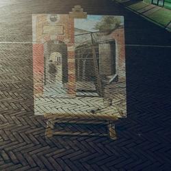 Straat expositie Pieter Hoogh
