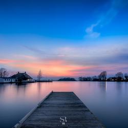 Muyeveld by sunset