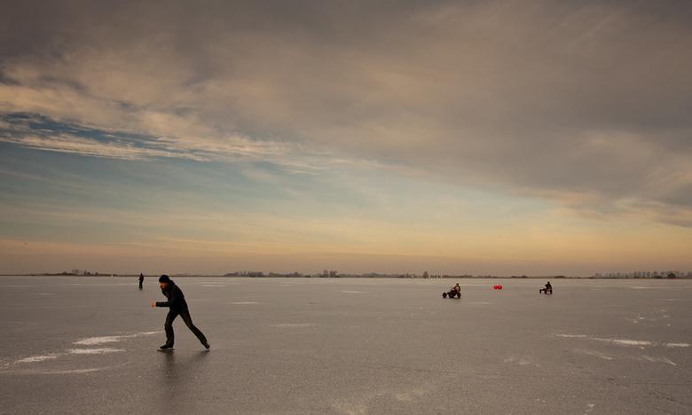 Ijspret - Schaatsen op de Langweerder Wielen