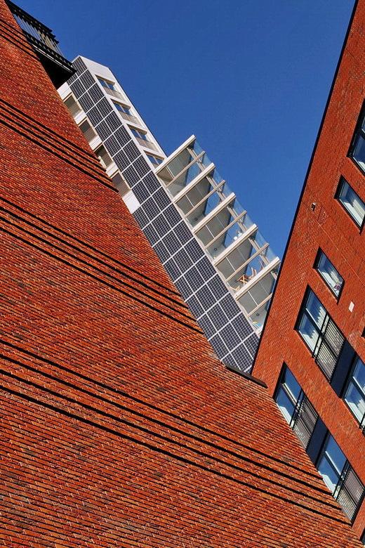 Amstelkwartier Amsterdam. - Samen met Henk Siteur een dagje naar het Amstelkwartier geweest in Amsterdam en daar mooie architectuur foto's gemaak