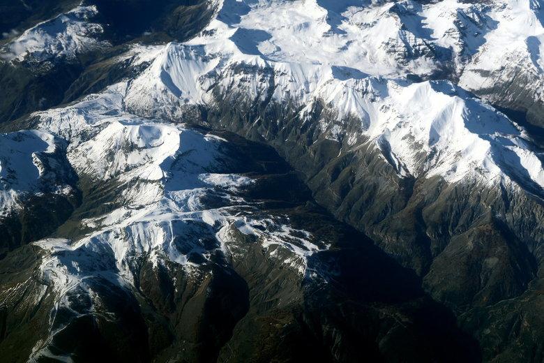 Mijn Reizen - Hier een prachtig beeld van de alpen , zoals ik al had gezegd helder  weer en was bijna 10 uur bezig met fotograferen . <br /> <br />