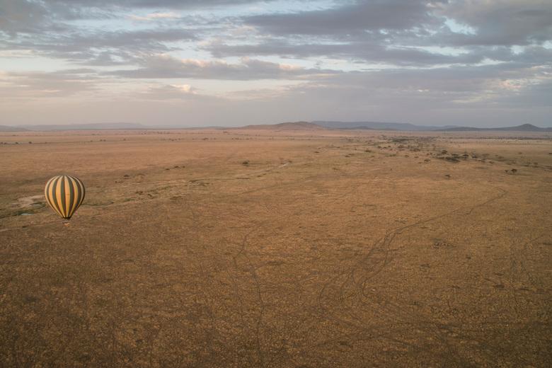 De Serengeti vanuit een luchtballon - Een andere manier van reizen is het zeker. Wat een geweldige ervaring was het om vanuit een luchtballon te genie