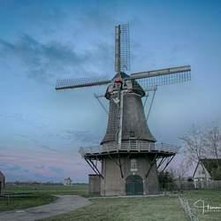De molen van Zuidbarge  (Zeldenrust ).